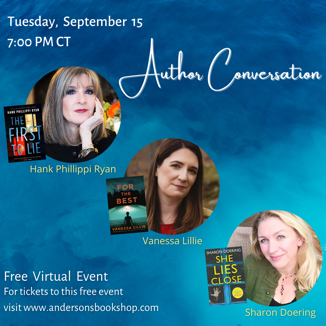 Anderson's Bookshop Virtual Event